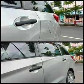 Cover Handle Blacktivo Hitam Doff Honda Mobilio Lengkap 1Set Incl Psg