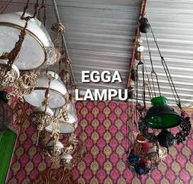 Produksi Lampu Gantung Antik Klasik Hias Joglo Gebyok Gasebo Egga