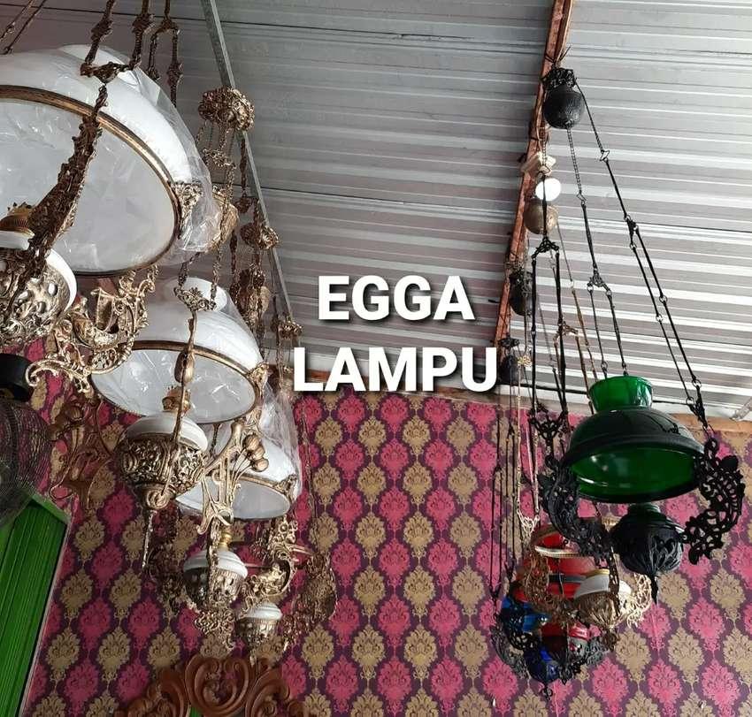 Produksi Lampu Gantung Antik Klasik Hias Joglo Gebyok Gasebo Egga 0
