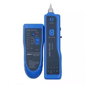 Wire Tracker Multi Purpose Tester Kabel Jaringan RJ45 RJ11 - WZ-806R