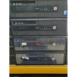 PC HP Pro Desk Gen 4 Haswell Core I7 Hdd 500 Ram 8gb DVD Murah