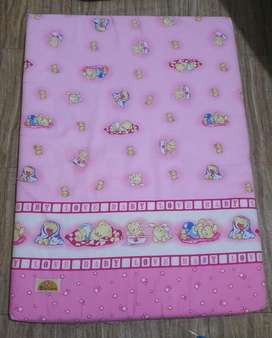 Kasur box bayi pink