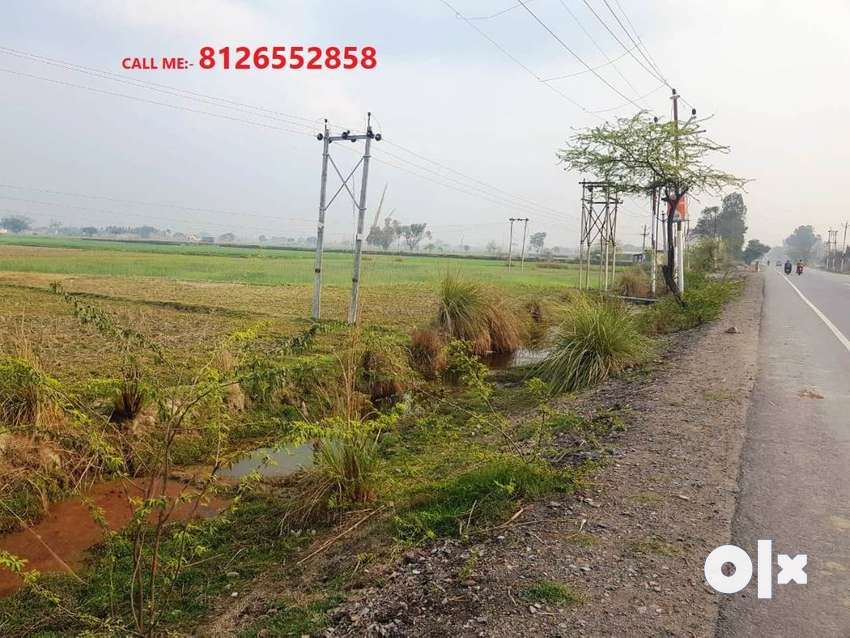 12x3=36 Bigha Land at Near Nagaula, Anupshahar Road, Aligarh 0