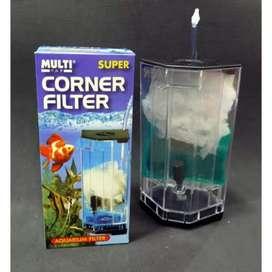 Multi Corner Filter size Medium sedang sudut pojok aquarium aquascape