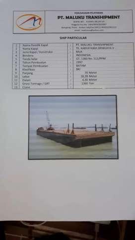 scrap tugboat dan tongkang