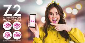 Z2 Zong Mobile Handset ( 6 Month package )