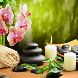Relaxing  beauty and spa