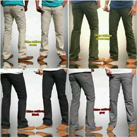 Celana jeans Cut bray model chinos