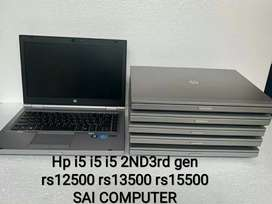 Hp i5 i5 i5 2nd 3rd rs11500 rs12500 rs13500 rs14500 SAI COMPUTER