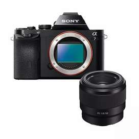 New BNIB sony a7 lensa fix fe 50mm f1.8