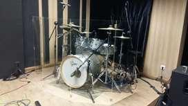 Peredam Drum Shield Akrilik