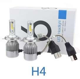 LAMPU MOBIL HEADLIGHT LED H4