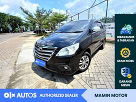 [OLXAutos] Toyota Kijang Innova 2015 2.0 G A/T Hitam #Mamin Motor