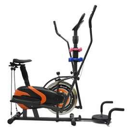 Orbitrek 6 in 1 sepeda statis aerobik multifungsi dari central fitness