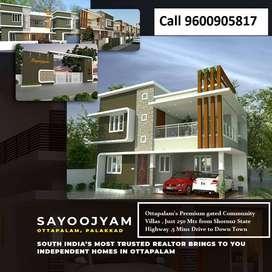 'Sayoojyam Villas' - A range of luxury 4BHK homes @ Ottapalam