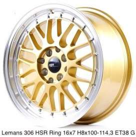 juragan velg baru hsr wheels ring 16 lemans GOLD