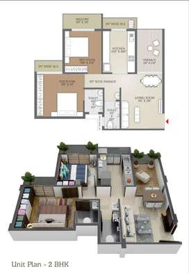 Get 2BHK at  Price of 1BHK Only 43L+ Taxes , Nevali Panvel