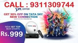 TATA SKY HD BOX & AIRTEL DISH TV DISCOUNT NEW CONNECTION