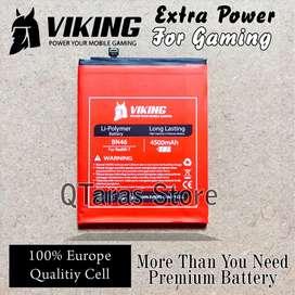 Baterai Double Power Redmi 7 Note 8 Viking