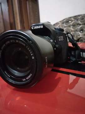 Canon 60d with 18-135mm