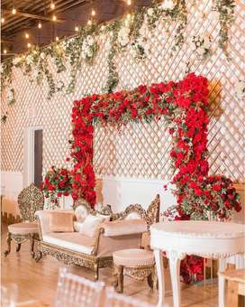 Wedding decor, photography and catering