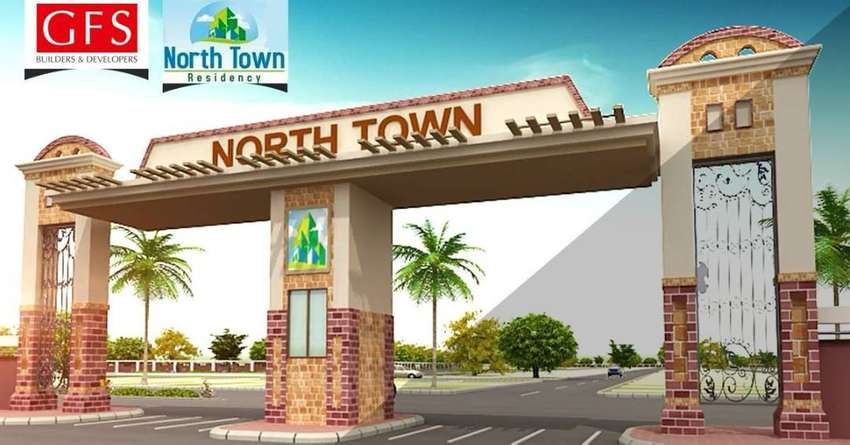 North Town Residency Phase 2 80qyd west open plots 0