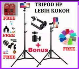 Tripod Kamera/Tripod hp/Tripod Ringliht Panjang 2.1M