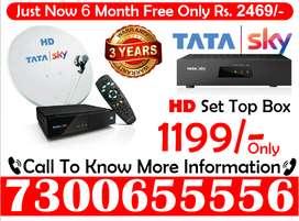 Tata Sky Buy Now DTH Dhamaka Sale tatasky Airtel HD box