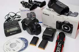 Canon 80d Seken Like New Plus plus