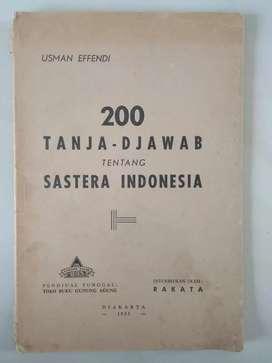 Buku sastra indonesia antik