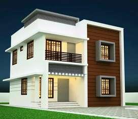 Three bedroom house near Pukkattupady . 100% bank loan