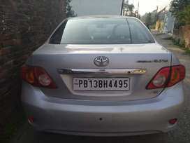 Corolla Altis silver color super comfortable and reliable