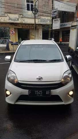 Jual cepat termurah Toyota Agya tipe G manual 2014 km rendah