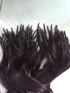 Jual rambut sambung asli panjang 70cm 104 helai