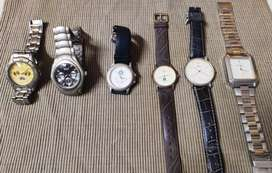 Watches 6pcs for just Rs.499 only..