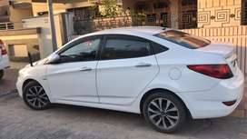 Verna automatic car well maintaned