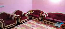 sofa set 7 seater available condition was used