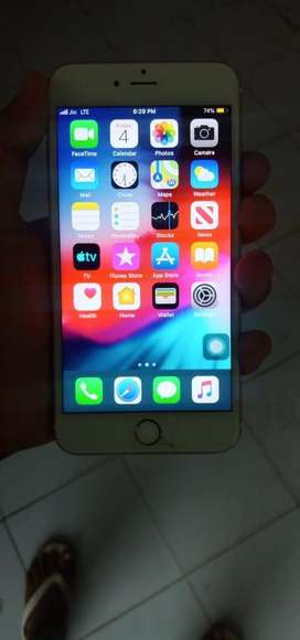 Iphone 6 plus -64 gb , every accesory available + box ,good condition