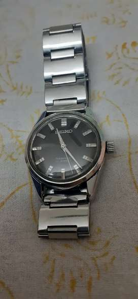 Seiko Vintage winding watch with Chain