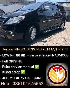 Toyota INNOVA BENSIN G 2014 M/T Nopol H bs tt ertiga, fortuner, CRV