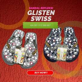 Sandal Glisten Swiss Ori Untuk Refleksi