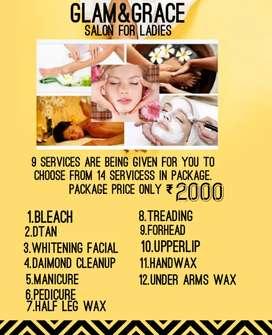 Glam & grace salon for ladies