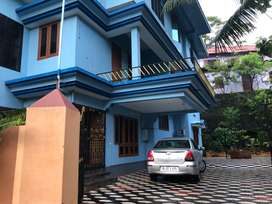 3-bed 2-bath Apartment In a villa  for rent in central Thiruvella