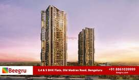 3 BHK, 4 BHK & 5 BHK apartments FOR SALE in Old Madras Road Bengaluru