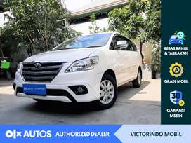 [OLX Autos] Toyota Kijang Innova 2014 2.0 G A/T Putih #Victorindo