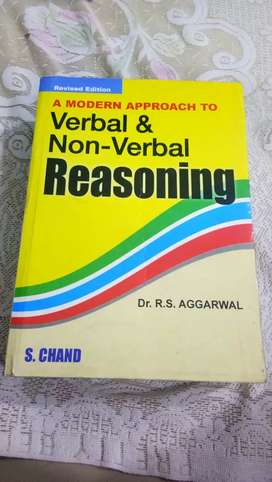 Verbal And Non-Verbal Reasoning - S.CHAND - 50% OFF