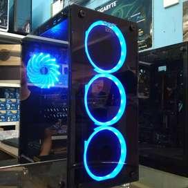 PC Gaming Render Ryzen 5 2600 VGA RX 570 4GB SSD 120GB Bergaransi