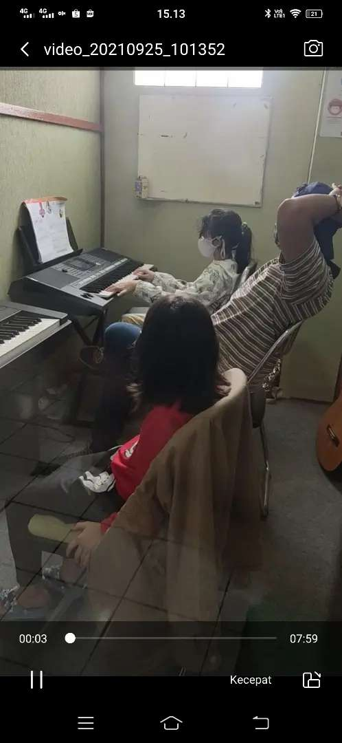Dicari guru les piano pop / biola