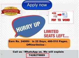 data entry jobs vacancy able