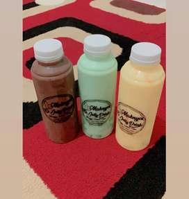 Minuman jelly segar